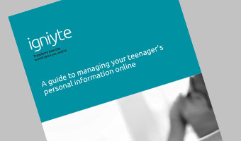 Teenagers Personal Information Online