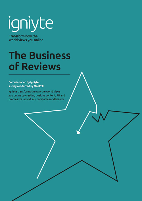 The business of reviews - Igniyte DISABLED