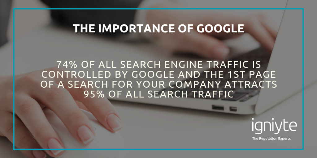 the importance of google - taking control of your online reputation